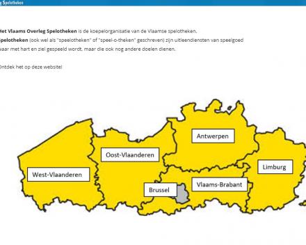website Vlaams Overleg Spelotheken