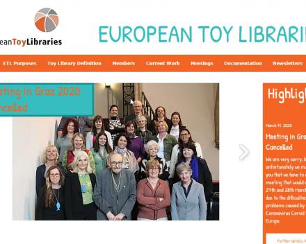 website European Toy Libraries